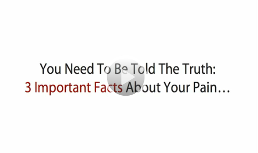Click Here to watch this amazing 3 little know facts about back pain Video