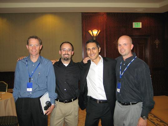 Dr Saunders, Ben, Eben & Joe