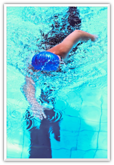 Swimming image
