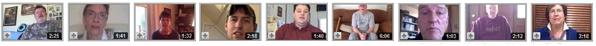 Youtube testimonials